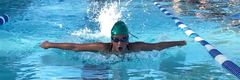 Chamberlain Park Pool Lap Swimmer