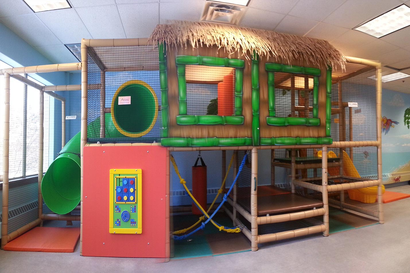 Kidz Zone Play Structure