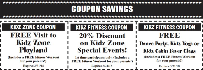 Kidz Zone Coupons - Click to Print Out