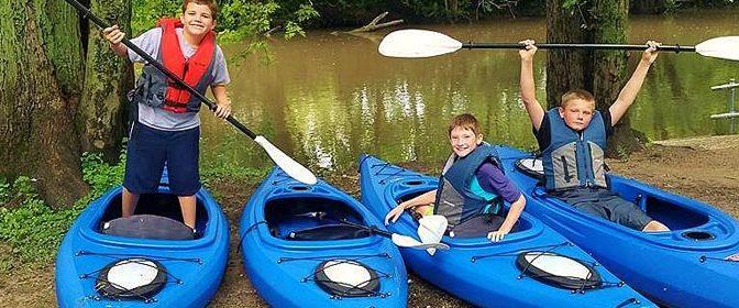 Camp Chamberlain Kayaking